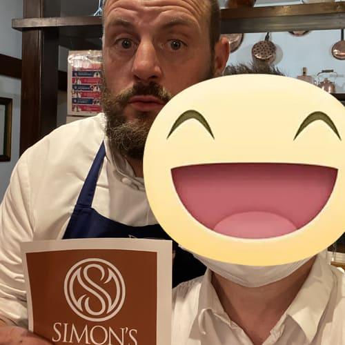 Con lo chef stellato Errico Recanati del ristorante Andreina di Loreto, Ancona