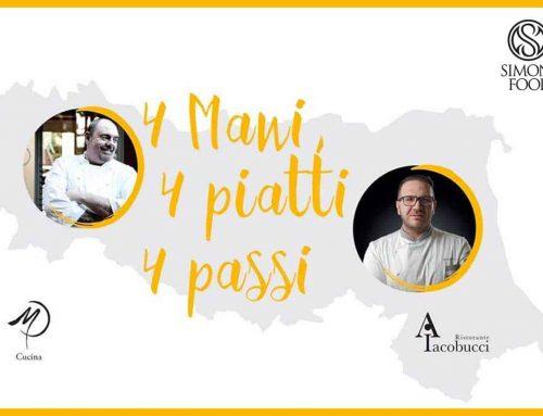 La cena a 4 mani con Agostino Iacobucci e Max Poggi