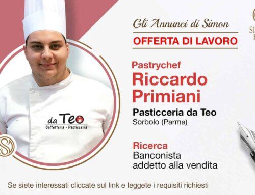 Cercasi Banconista per Pasticceria da Teo (Sorbolo, Parma)