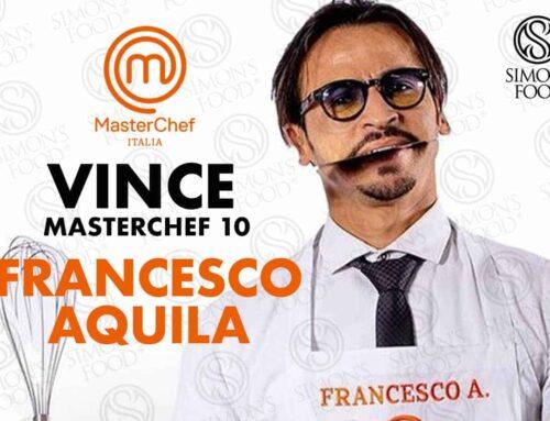 Il Vincitore di Masterchef Italia 10 è Francesco Aquila