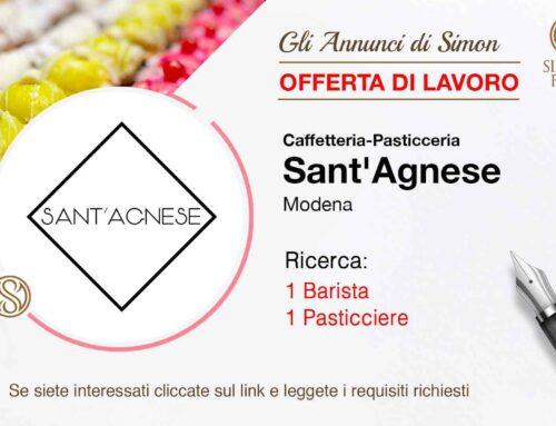 Cercasi barista e pasticcere professionista per Pasticceria Sant'Agnese (Modena)