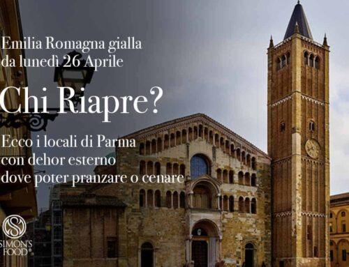 26 aprile torna la zona gialla in Emilia Romagna: Quali locali riaprono a Parma e Provincia